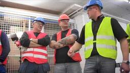 Školení Hilti o bezpečnosti práce s úhlovými bruskami