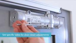 ASSA ABLOY DC700 G461 Door Closer Installation Guide