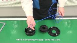 Nylon Cord Movie 6_How to change_DiaTop