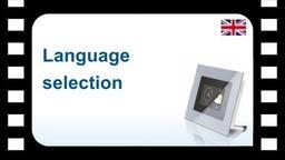 B-Tronic CentralControl:  Language selection