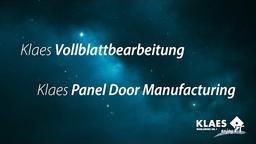 Individuelle Holzhaustüren erstellen - Klaes Vollblattbearbeitung [DE]