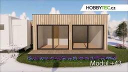 Rozšiřující modul mobilního domu +42