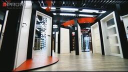 LOMAX hliníkové vchodové dveře Aktiv