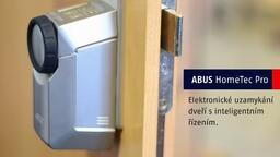 ABUS HomeTec Pro - elektronický zámek na dveře