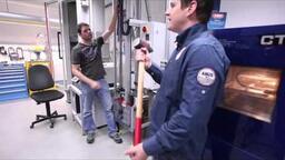 Test zámku ABUS. Zmrazení a rozbití kladivem. (ENG)