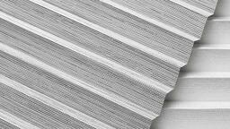 Jak čistit a prát skládané rolety plisé?