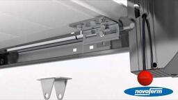 NovoPort®-Sektionaltorsystem iso 45 mit Senkrechter Zugfeder deutsch