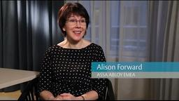 Employer of Choice: Alison Forward, VP Human Resources, ASSA ABLOY EMEA