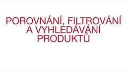 Porovnání, filtrování a vyhledávání produktů na Hilti Online