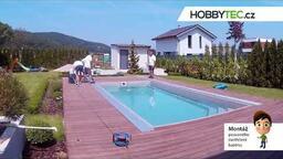 Konstrukce zastřešení bazénu