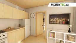 Interiér domu Hobbytec Mobile - Corinne
