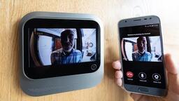 Digitální kukátko s wifi komunikátorem
