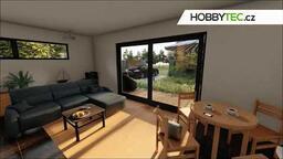 Interiér rodinného domu Hobbytec Home - Renne
