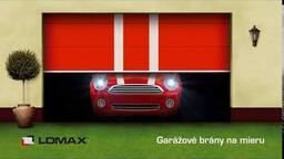 Vyladené garážové brány Lomax
