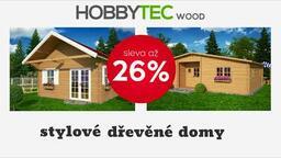 Stylové dřevěné domy - sleva 26%