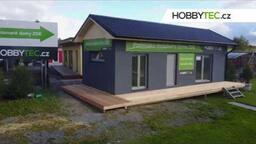 Mobilní dům s terasou