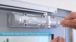 ASSA ABLOY DC700G-CO Door Closer Installation Guide