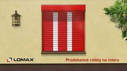 Vyladené predokenné rolety Lomax