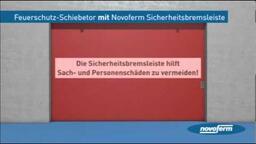 Novoferm Highlights für Feuerschutz-Schiebetore bzw. Brandschutz-Schiebetore