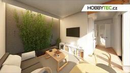 Interiér domu Hobbytec Mobile - Florence