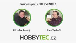 Rozhovor na Frekvenci 1 - Čtyři hlavní činnosti firmy Hobbytec