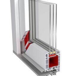 Vchodové dveře systém 85 mm