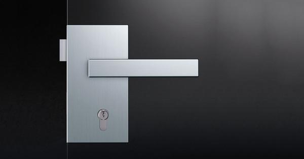 Technické normy pro objektové dveřní kliky