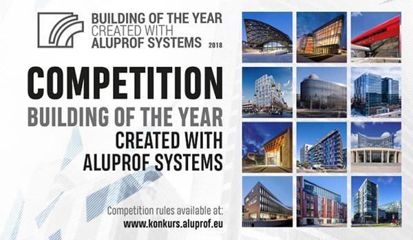 Uživatelé internetu vyberou nejlepší objekt se systémy Aluprof