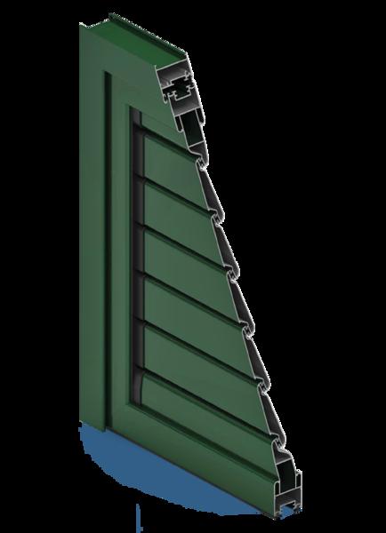 Hliníkové okenice od firmy EKOOKNA