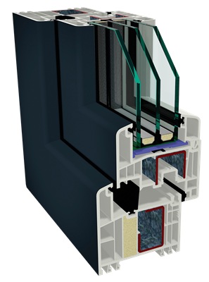 Systém izolovaných profilů GEALAN IKD