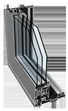 PONZIO portálové hliníkové posuvné systémy SLIDING 1600tt HI
