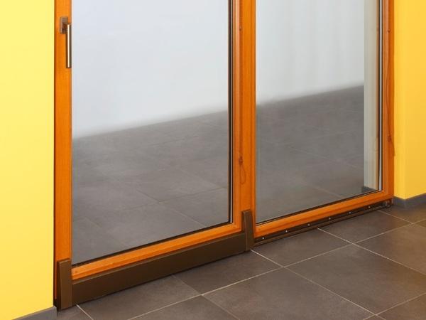 Posuvně sklopné plastové dveře - PSK