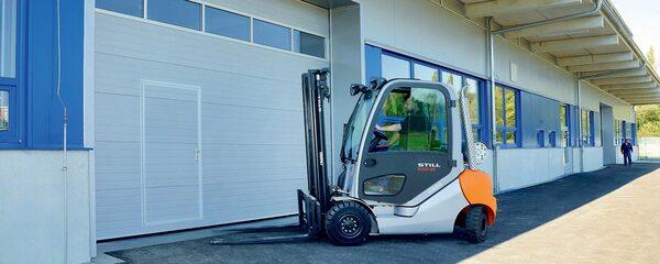 Průmyslová sekční vrata od firmy JIMI-TORE