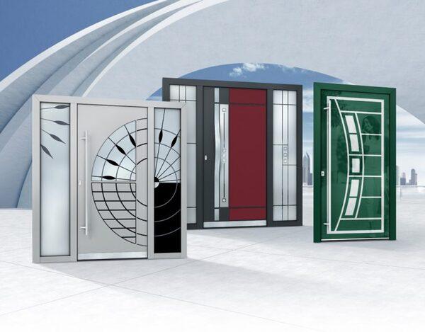 Luxusní hliníkové dveře od firmy PERITO