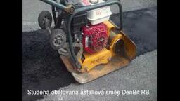 Studená obalovaná asfaltová směs DenBit RB
