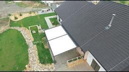 Pergoly se stahovací střechou