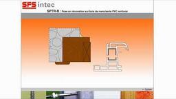 SFS Group - SPTR-B pour la pose en rénovation de menuiseries PVC renforcées