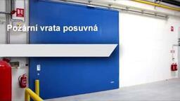 Protipožární vrata posuvná od SPEDOS