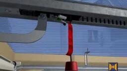 Montáž vodící kolejnice a pohonu ProMatic