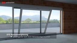 SFS Hebeschiebetür-System für Architekten und Bauherren