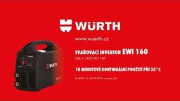SVAŘOVACÍ INVERTOR EWI 160 ARC /LIFT TIG
