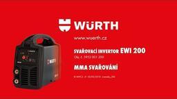 SVAŘOVACÍ INVERTOR EWI 200 ARC /LIFT TIG