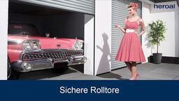 Sichere Rolltore | heroal Produkte