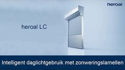 Intelligent daglichtgebruik met zonweringslamellen | heroal LC