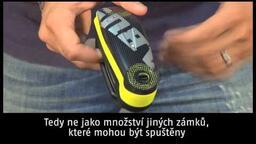 Abus Detecto 7000 RS1 alarmový kotoučový zámek (CZ titulky)