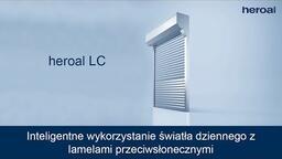 Inteligentne wykorzystanie światła dziennego zlamelami przeciwsłonecznymi | heroal LC