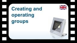 B-Tronic CentralControl: Creating and operating groups