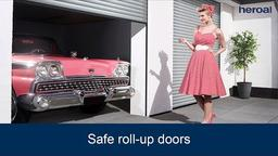 Safe roll-up doors | heroal products