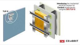 SFS Group - TUF-S for Cembrit 8mm fibre cement panels