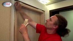 Interiérové dveře Zlomek - Dveře Compack - montážní postup